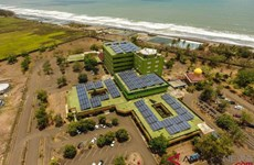 Toshiba helps Indonesia build CO2-free energy system