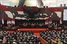 Congratulations to newly-elected leaders of Indonesia parliament