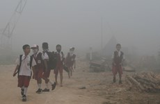 Many schools in Indonesia closed due to smoke from forest fires