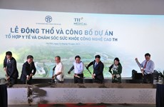 Work on hi-tech healthcare complex starts in Hanoi