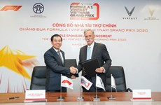 Vinfast announced as F1 Vietnam GP's title sponsor