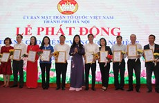 Hanoi launches Month for the Poor 2019