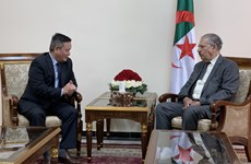 Algerian upper house speaker wants to boost ties with Vietnam
