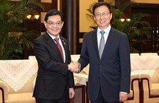 Singapore, China sign nine cooperation agreements, MoUs