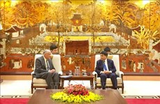 Hanoi leader welcomes delegation of LDS Church