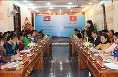 Women in Gia Lai enhance cooperation with Cambodian peers