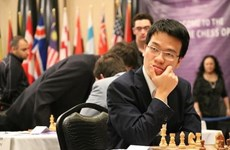 Liem draws, Son wins at FIDE Grand Swiss in England
