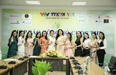 Beauty contest for journalists spreads message of environmental protection