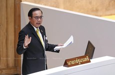 Thai PM lays stress on defence spending