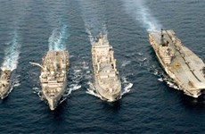Thailand, India begin joint naval exercise