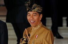 Indonesian President sworn in for second term