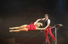 Hanoi international circus festival closes