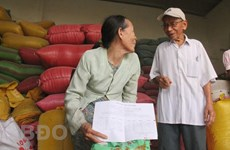 Binh Dinh gets rice relief