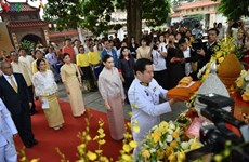 Hanoi ceremony to hand over offerings from Thai King