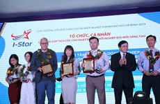 HCM City's I-Star awards presented to 12 winners