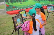 Festival day lights up children's dreams