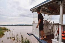 Thailand: Mekong water level drops