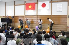 Japanese firm holds festival for Vietnamese apprentices