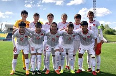 VN's female football team in Group A of Olympic 2020 Asian qualifiers