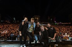 Irish band to open Monsoon Music Festival in Hanoi