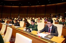 National Assembly discuss draft amended securities law