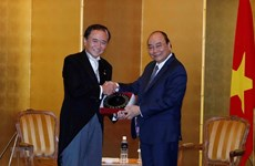 Prime Minister receives leaders of Japanese locality, newspaper