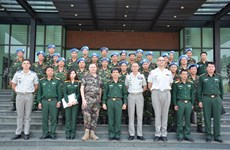 Vietnam, France boost peacekeeping cooperation