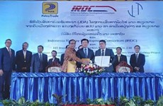 Indonesian firm to build railway linking Laos with Vietnam