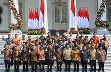 Indonesian President announces new cabinet lineup