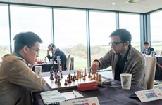 Vietnamese GMs reap positive results at FIDE Grand Swiss