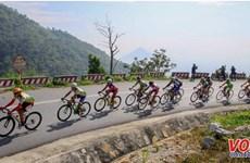 Nam Ky Khoi Nghia bike race runs through Cambodian localities