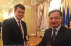 Vietnam hopes to boost parliamentary ties with Ukraine