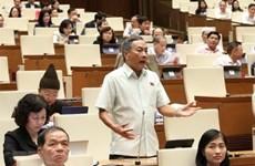 NA debate amendments to laws on cadres, civil servants, public employees
