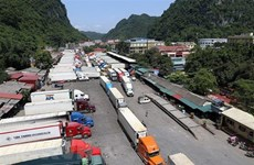 Customs to work extra hours to clear truck jam at border
