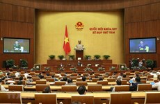 Fifth working day of NA's 8th session