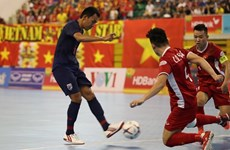 Vietnam lose to Thailand in semi-final of futsal champs