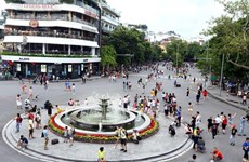 Hanoi plans to ban vehicles in nine streets around Hoan Kiem Lake