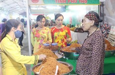 Hai Duong fair features handicrafts, OCOP products