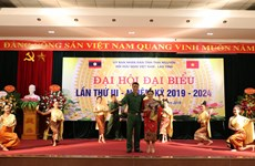 Association contributes to Vietnam-Laos relations