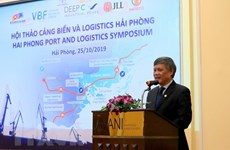 Workshop talks opportunities to develop logistics services in Hai Phong