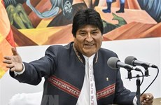 Congratulations to Bolivian President