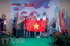 Hanoi students win four gold medals at Int'l Science Competition