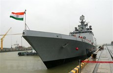 Indian naval ship visits Da Nang city
