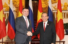 Vietnam supports Russia in enhancing role in Asia-Pacific: Deputy PM