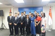 Singapore presents ASEAN Scholarships to Vietnamese students