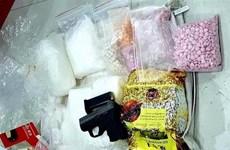 Son La arrests drug trafficker