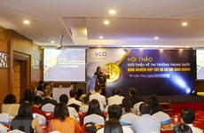 Abundant chances remain in Chinese market for Vietnamese exporters