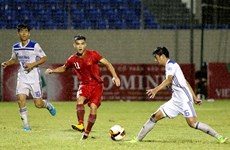 Vietnam beat Hanyang University in int'l U21 football champs