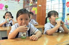 HCM City launches school milk programme