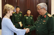 VN calls for further support from USAID to handle post-war consequences